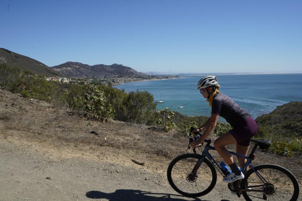 Avila Beach cycling, Alison Tetrick