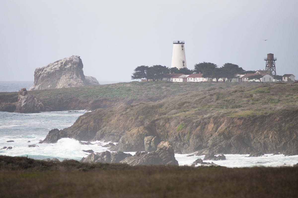 Piedras Blancas Light Station Cycling on the Central Coast